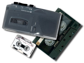 convert tapes to CD and mp3
