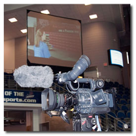 audio visual equipment rental and videography services for workshops